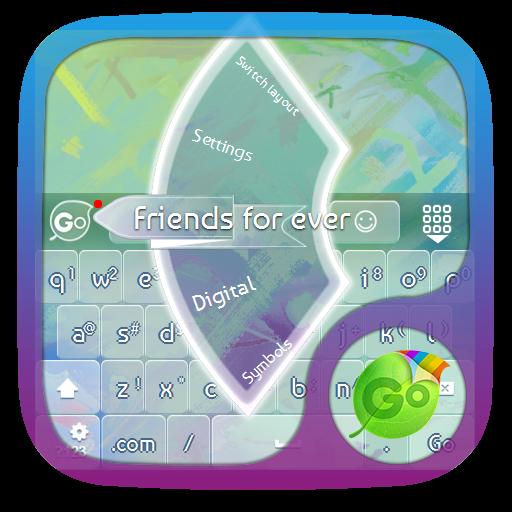 永遠の友達 GO Keyboard 個人化 App LOGO-APP開箱王