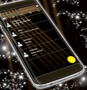 Black Theme for SMS - náhled