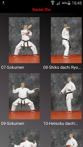 android KARATE SHITO-RYU 3 Screenshot 1