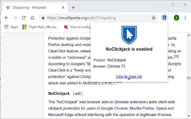 NoClickjack