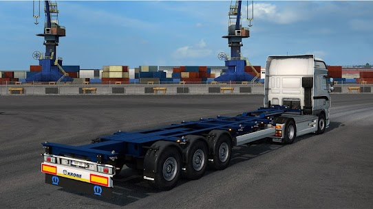 Real Euro Truck Simulator New 1.1 Mod Android Updated 3