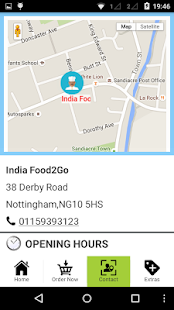 India Food2Go- screenshot thumbnail