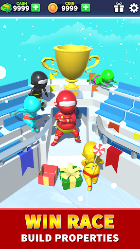 Sea Race 3D - Fun Sports Game Run apkpoly screenshots 8