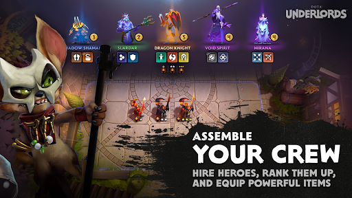 Dota Underlords screenshots 2