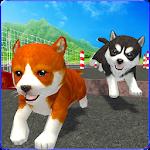 Cute Puppy Dog Racing Sim 2017 Icon