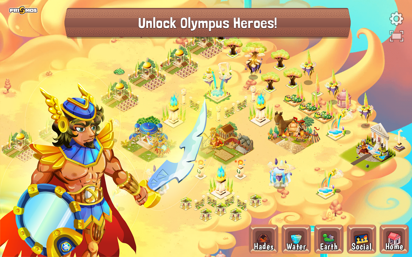 Creatures of Olympus- screenshot