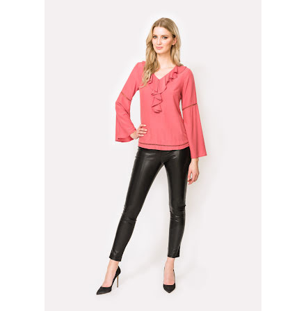 Annabelle Blouse, Dull Pink - Dry Lake