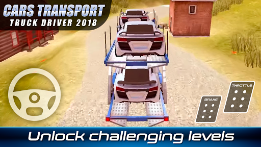 Download Cars Transport Truck Driver 2018 MOD APK 4