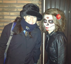 Photo: making new friends in Antwerp...