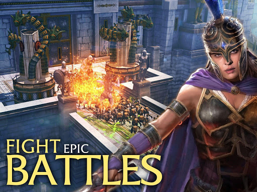 Olympus Rising: Tower Defense and Greek Gods apkpoly screenshots 15
