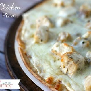 Garlic Chicken White Pizza.