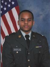 Photo: Kamau's ROTC photo. April 2010.