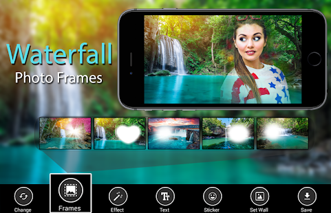 Waterfall Photo Frames- screenshot thumbnail