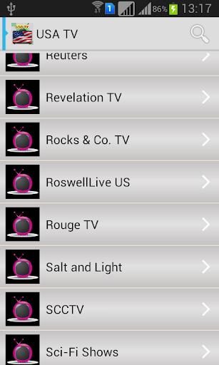 USA TV Channels NDroid Free|玩娛樂App免費|玩APPs