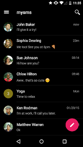 mysms SMS Text Messaging Sync App Download For Android and iPhone 3