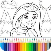 Game Princess Coloring Game APK for Windows Phone