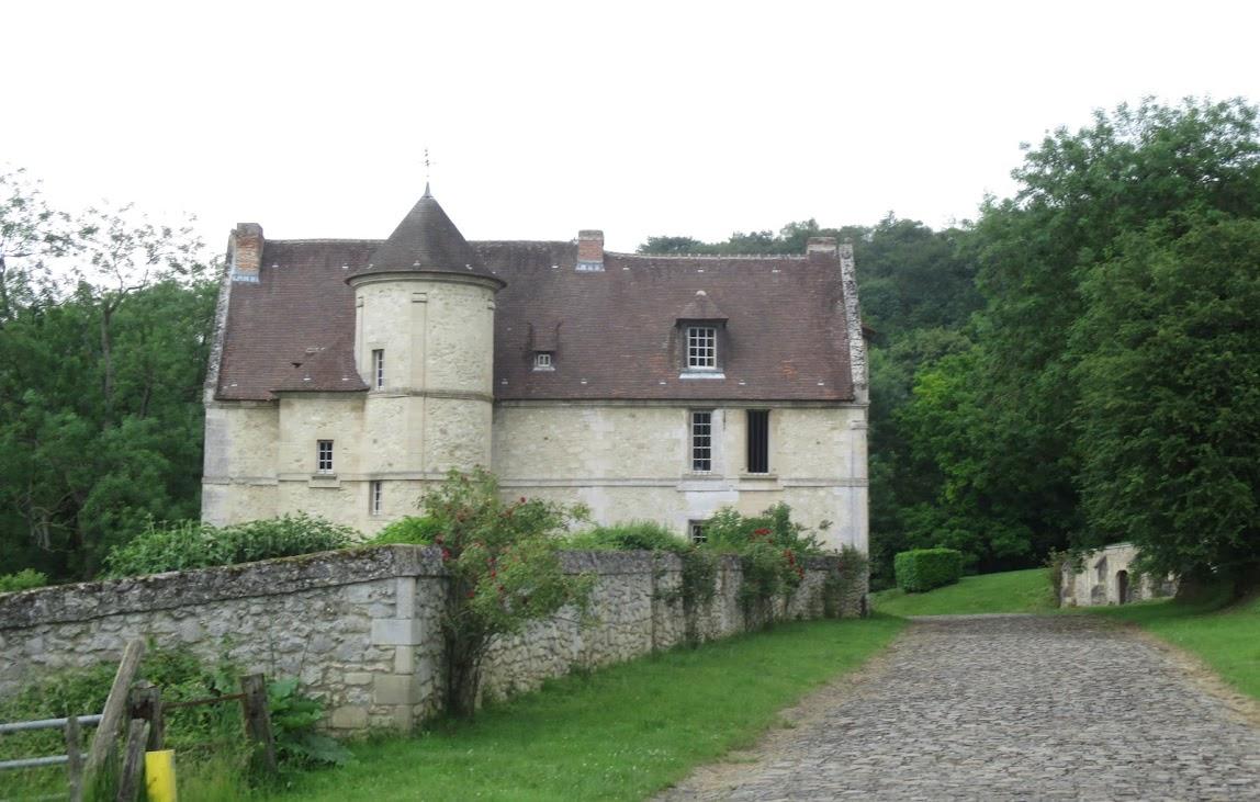Manoir de Saint-Germain tussen Verberie en Rhuis