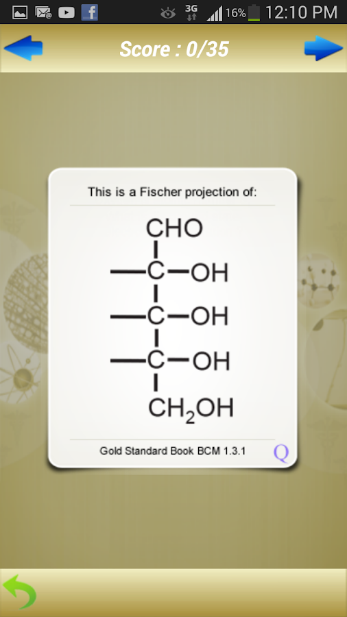 MCAT Biochemistry Flashcards- screenshot