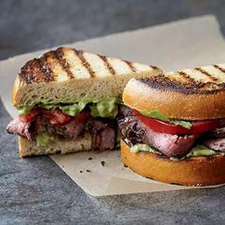 Coffee Steak Sandwich on Texas Toast