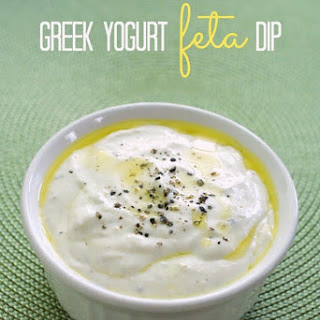 Greek Yogurt Feta Dip.