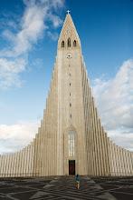 Photo: Hallgrímskirkja in Reykjavik