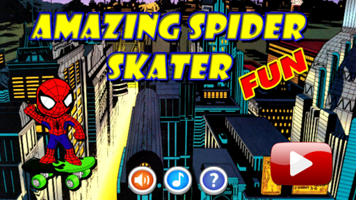 Amazing Spider Boy Skater