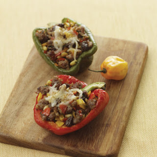 Sausage and Cheese Stuffed Peppers.