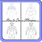 Drawing Ultraman Step by Steps