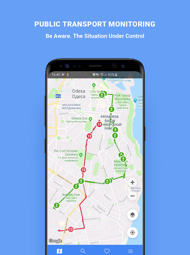 Public Transport - Odessa 3.0.1 screenshots 1