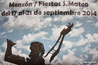 Photo: Elección cartel alternativo fiestas MONZÓN. Carteles presentados.