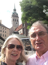 Photo: Margret and Klaus Diegritz in Munich, Germany in July 2017.