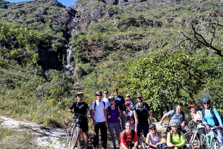 Nós e a Cachoeira da Farofa, no Parnacipó