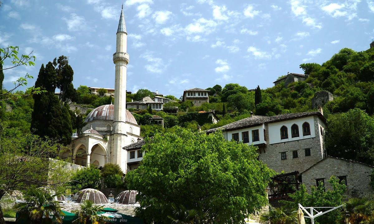 Meczet w Počitelj, Bośnia i Hercegowina