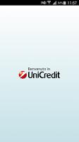 Screenshot of Mobile Banking UniCredit