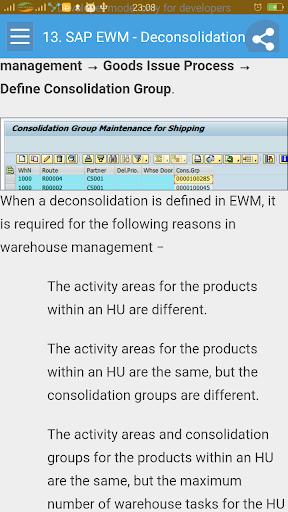 Learn SAP EWM 1.1 screenshots 4