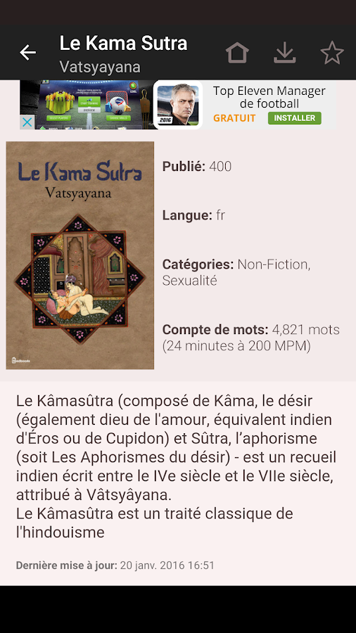 eBook Search - Livres Gratuits – Capture d'écran
