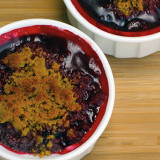Blackberry-Raspberry Mini Cobblers Recipe