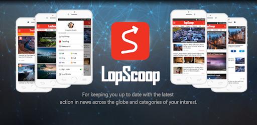 Lopscoop: Make Money Free,News,Tasty,Quizzes,WTF! app (apk) free