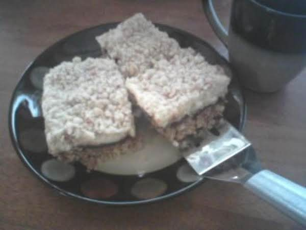 Cream Cheese Oat Bars Recipe