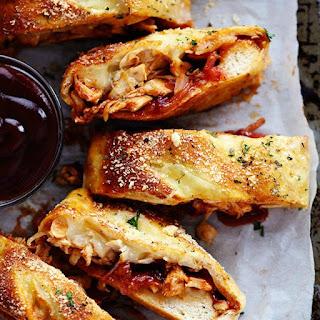 BBQ Chicken Stromboli
