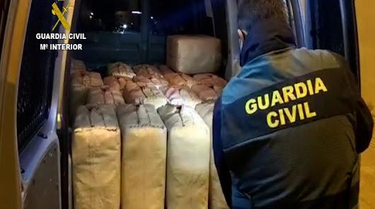 Cae una banda de narcos con ramificaciones en El Ejido, Roquetas y Adra