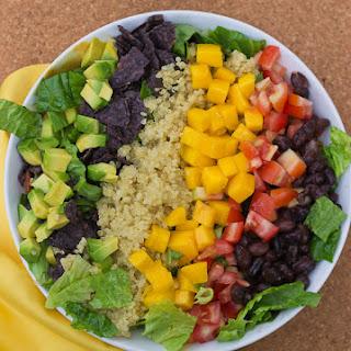 Quinoa Taco Salad.