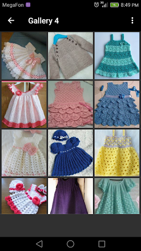 Crochet Baby Dress screenshot 1