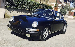 Porsche 911 S Rent Lazio