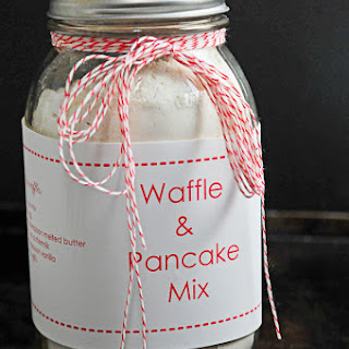 Buttermilk Waffle and Pancake Mix Recipe + Printable.