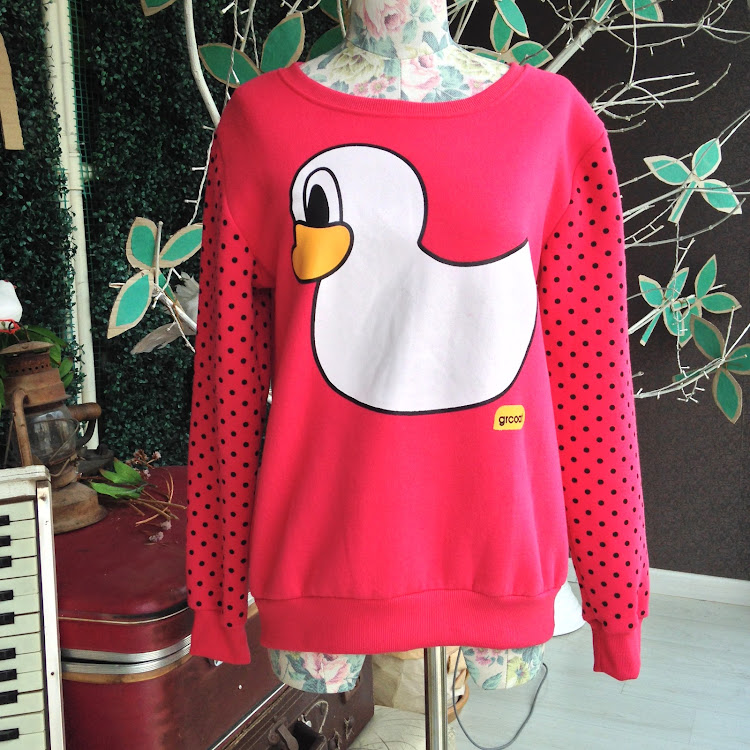 Rubber Duckie Sweatshirt by Le Tea Boutique