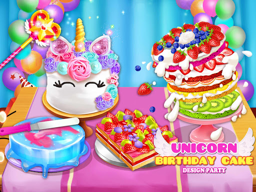 Birthday Cake Design Party - Bake, Decorate & Eat! 1.2 screenshots 1