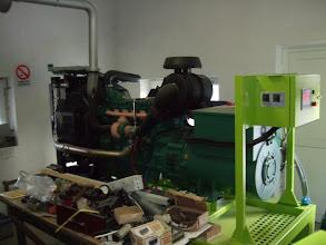 Photo: Generator Volvo 205 kva, Rezervele de Stat, Caineni