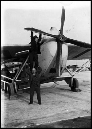décollage barnstormer vêtement aviateur