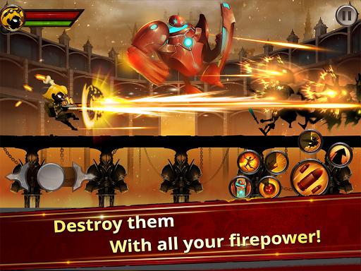 Stickman Legends - Ninja Warriors: Shadow War  screenshots 2